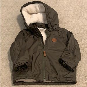 NWOT- Winter coat with Sherpa lining.